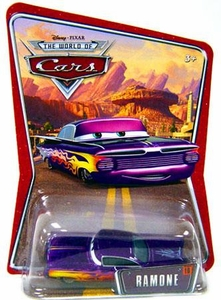 Disney / Pixar CARS Movie 1:55 Die Cast Car Series 3 World of Cars Ramone [Purple]