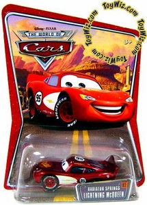 Disney / Pixar CARS Movie 1:55 Die Cast Car Series 3 World of Cars Radiator Springs Lightning McQueen