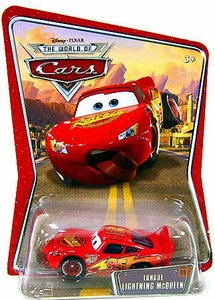 Disney / Pixar CARS Movie 1:55 Die Cast Car Series 3 World of Cars Tongue Lightning McQueen