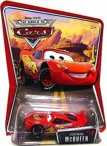 Disney / Pixar CARS Movie 1:55 Die Cast Car Series 3 World of Cars Lightning McQueen