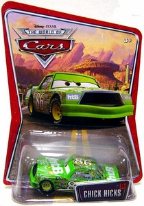 Disney / Pixar CARS Movie 1:55 Die Cast Car Series 3 World of Cars Chick Hicks [Green]