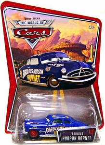 Disney / Pixar CARS Movie 1:55 Die Cast Car Series 3 World of Cars Fabulous Hudson Hornet [Red Hub Caps]