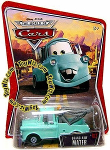 Disney / Pixar CARS Movie 1:55 Die Cast Car Series 3 World of Cars Brand New Mater [Teal]