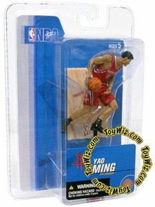 McFarlane Toys NBA 3 Inch Sports Picks Series 3 Mini Figure Yao Ming (Houston Rockets)