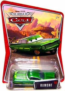 Disney / Pixar CARS Movie 1:55 Die Cast Car Series 3 World of Cars Ramone [Green]