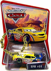 Disney / Pixar CARS Movie 1:55 Die Cast Car Series 3 World of Cars RPM #64