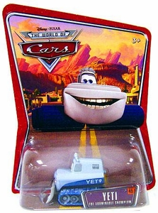 Disney / Pixar CARS Movie 1:55 Die Cast Car Series 3 World of Cars Yeti