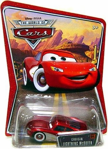 Disney / Pixar CARS Movie 1:55 Die Cast Car Series 3 World of Cars Cruisin' Lightning McQueen