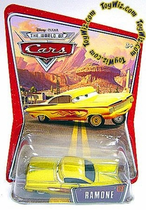 Disney / Pixar CARS Movie 1:55 Die Cast Car Series 3 World of Cars Ramone [Yellow]