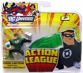 DC Universe Action League Mini Figure Green Lantern with Cannon Construct