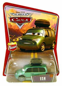 Disney / Pixar CARS Movie 1:55 Die Cast Car Series 3 World of Cars Van