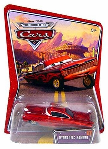 Disney / Pixar CARS Movie 1:55 Die Cast Car Series 3 World of Cars Hydraulic Ramone [Red]