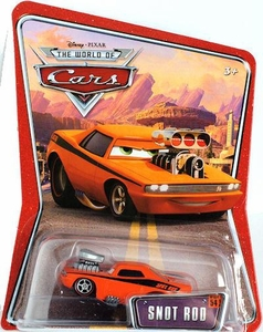 Disney / Pixar CARS Movie 1:55 Die Cast Car Series 3 World of Cars Snot Rod