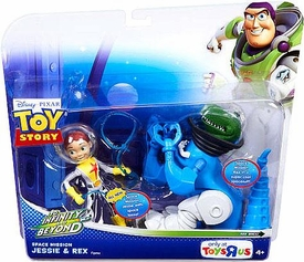 Disney / Pixar Toy Story Exclusive To Infinity And Beyond Space Mission Action Figure 2-Pack Jessie & Rex