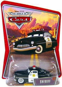 Disney / Pixar CARS Movie 1:55 Die Cast Car Series 3 World of Cars Sheriff