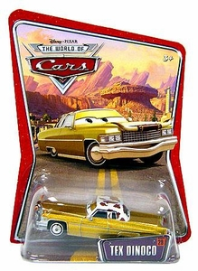 Disney / Pixar CARS Movie 1:55 Die Cast Car Series 3 World of Cars Tex Dinoco