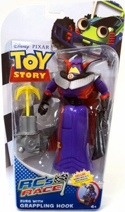 Disney / Pixar Toy Story RC's Race Action Figure Zurg with Grappling Hook