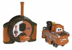 Disney / Pixar CARS 2 Movie Geotrax Turbo RC Vehicle Spy Mater