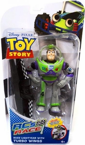 Disney / Pixar Toy Story RC's Race Action Figure Buzz Lightyear with Turbo Wings