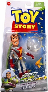 Disney / Pixar Toy Story To Infinity And Beyond Space Mission Action Figure Woody