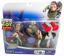 Disney / Pixar Toy Story Exclusive To Infinity And Beyond Space Mission Action Figure 2-Pack Woody & Bullseye