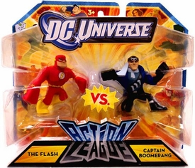 DC Universe Action League Mini Figure 2-Pack Flash vs. Captain Boomerang