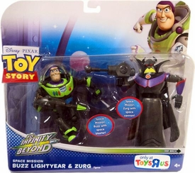 Disney / Pixar Toy Story Exclusive To Infinity And Beyond Space Mission Action Figure 2-Pack Buzz Lightyear & Zurg