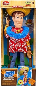 Toy Story Exclusive 16 Inch Special Edition Action Figure Hawaiian Vacation Talking Woody