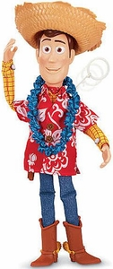 Disney / Pixar Toy Story Exclusive 16 Inch Talking Action Figure Hawaiian Vacation Woody