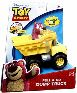 Disney / Pixar Toy Story Pull & Go Dump Truck [Includes Exclusive Lotso Figure!]