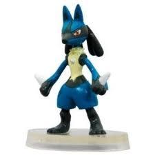 Pokemon Mini PVC Figure #448 Lucario