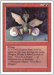 Magic the Gathering Revised Edition Single Card Uncommon Dragon Whelp