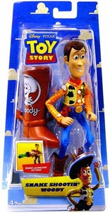 Disney / Pixar Toy Story 5 Inch Action Figure Snake Shootin' Woody