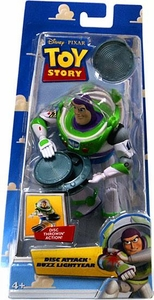 Disney / Pixar Toy Story 5 Inch Action Figure Disc Attack Buzz Lightyear