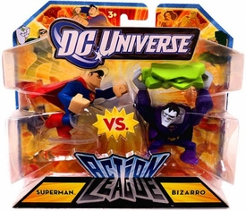 DC Universe Action League Mini Figure 2-Pack Superman vs. Bizarro