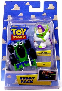 Disney / Pixar Toy Story Mini Figure Buddy 2-Pack Action Buzz Lightyear & RC