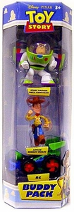 Disney / Pixar Toy Story Mini Figure Buddy 3-Pack Space Ranger Buzz Lightyear, Action Sheriff Woody & RC