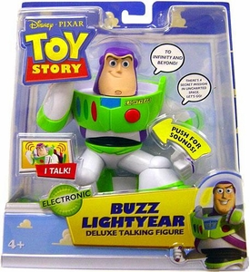 Disney / Pixar Toy Story 2 Movie Deluxe Talking Action Figure Buzz Lightyear