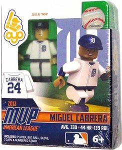 OYO Baseball MLB Building Brick Minifigure 2012 MVP American League Miguel Cabrera [Detroit Tigers]