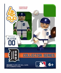 OYO Baseball MLB Building Brick Minifigure Detriot Tigers Collectors Series Figure