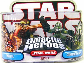 Star Wars Galactic Heroes Mini Figure 2-Pack Tarfful & Commander Gree