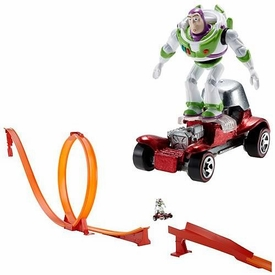 Disney / Pixar Toy Story Movie Playset Hot Wheels Classic Falling with Style Track Set
