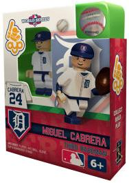 OYO Baseball MLB World Series Edition Building Brick Minifigure Miguel Cabrera [Detroit Tigers]