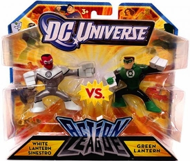DC Universe Action League Mini Figure 2-Pack White Lantern Sinestro vs. Green Lantern