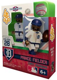 OYO Baseball MLB World Series Edition Building Brick Minifigure Prince Fielder [Detroit Tigers]