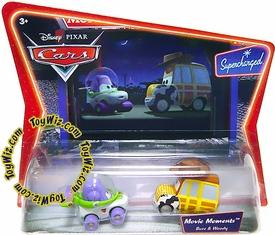Disney / Pixar CARS Movie Moments 1:55 Die Cast Figure 2-Pack Series 2 Supercharged Toy Story's Buzz & Woody