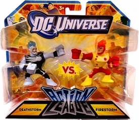 DC Universe Action League Mini Figure 2-Pack Deathstorm vs. Firestorm
