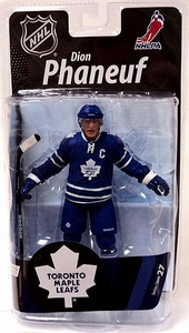 McFarlane Toys NHL Sports Picks Series 27 Action Figure Dion Phaneuf (Toronto Maple Leafs) Blue Jersey