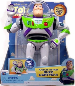 Disney / Pixar Toy Story 12 Inch Talking Action Figure Karate Action Buzz Lightyear
