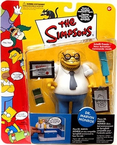 The Simpsons Series 10 Playmates Action Figure Marvin Monroe